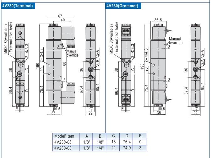 Van Điện Từ Airtac 4V230E-06