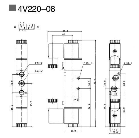 Van Điện Từ Airtac 4V220-08